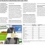Nationaal Dealertevredenheidsonderzoek 2013